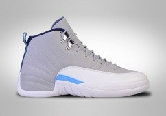 NIKE AIR JORDAN 12 RETRO UNC UNIVERSITY GREY