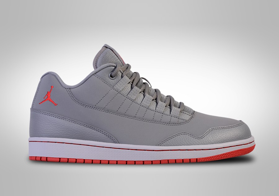 new concept 477f2 b751a NIKE AIR JORDAN EXECUTIVE LOW WOLF GREY GYM RED price €87.50 |  Basketzone.net