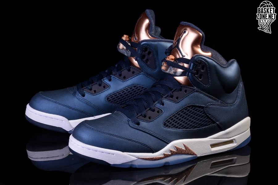 best sneakers 523fd 85e65 NIKE AIR JORDAN 5 RETRO BRONZE