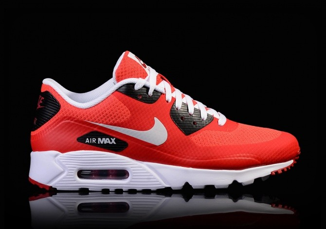 nike air max 90 ultra red and black billig