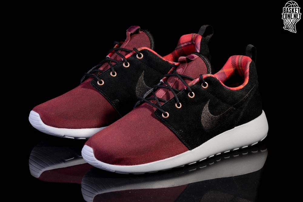 best sneakers 53828 5a3bd NIKE ROSHE ONE PREMIUM BORDEAUX