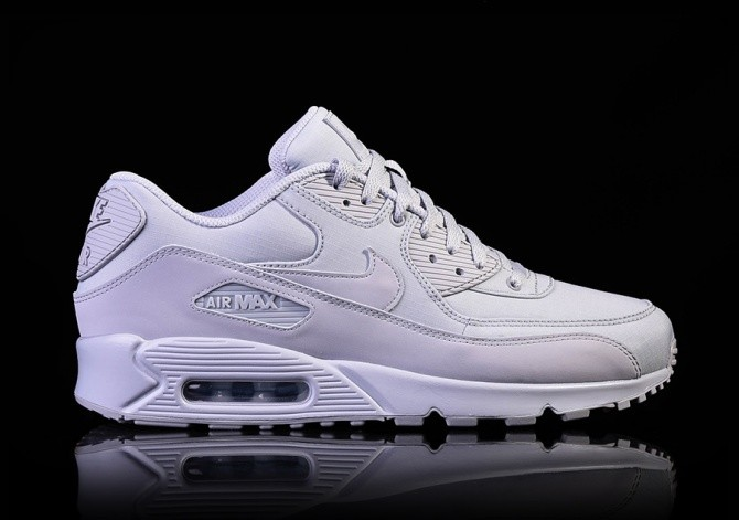 the latest fe8e5 579bb NIKE AIR MAX 90 ESSENTIAL WOLF GREY