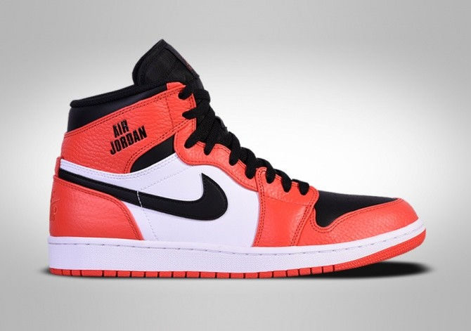 brand new e75a2 bf7be NIKE AIR JORDAN 1 RETRO HIGH MAX ORANGE