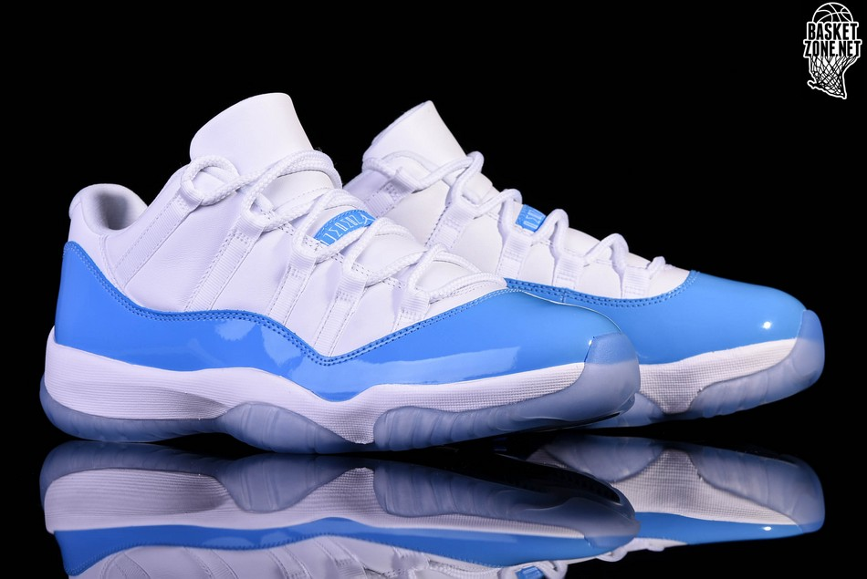 6db4fde3401991 ... 50% off nike air jordan 11 retro low unc north carolina blue 8819d 604e3