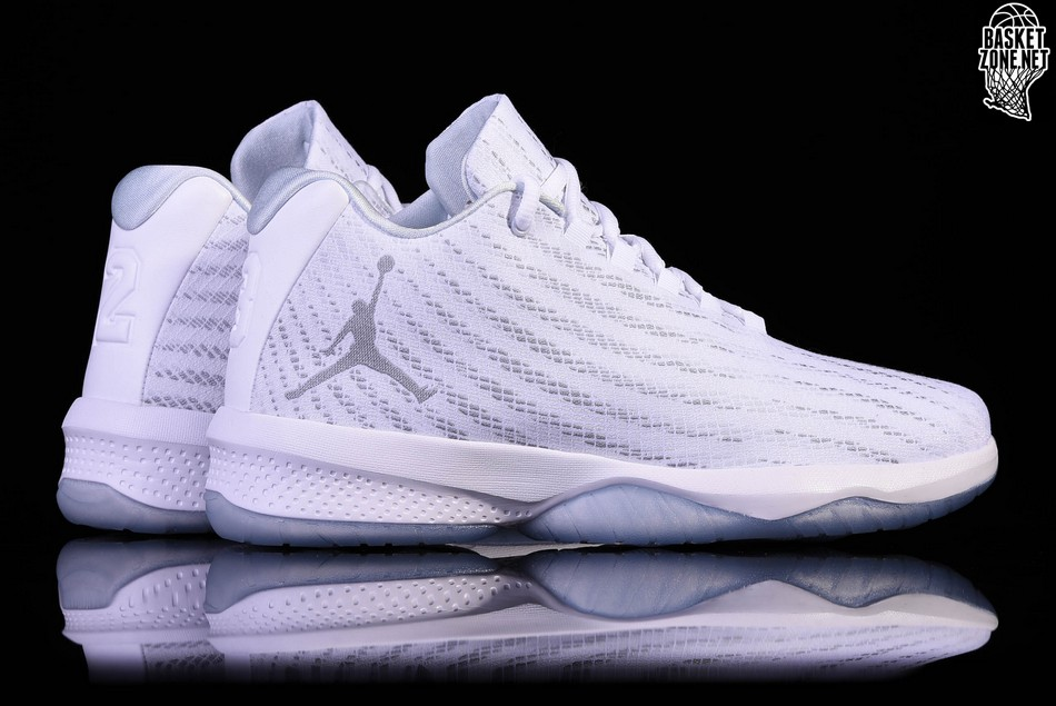 6ea3cb65da71c NIKE AIR JORDAN B. FLY WHITE SILVER price €97.50