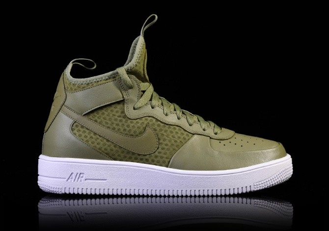 ee5c40edc533 NIKE AIR FORCE 1 ULTRAFORCE MID PALM GREEN price €102.50 ...