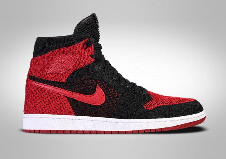 434f0113a2a NIKE AIR JORDAN 1 RETRO HIGH FLYKNIT BANNED BG (SMALLER SIZE) pour ...