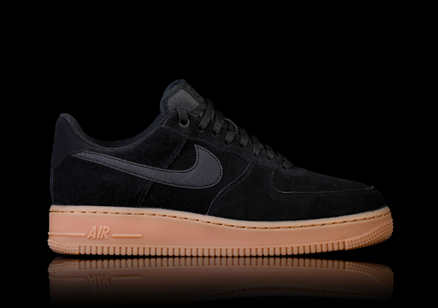 the latest 521df 9362d NIKE AIR FORCE 1 '07 LV8 SUEDE BLACK