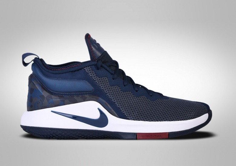 NIKE LEBRON WITNESS II COLLEGE NAVY