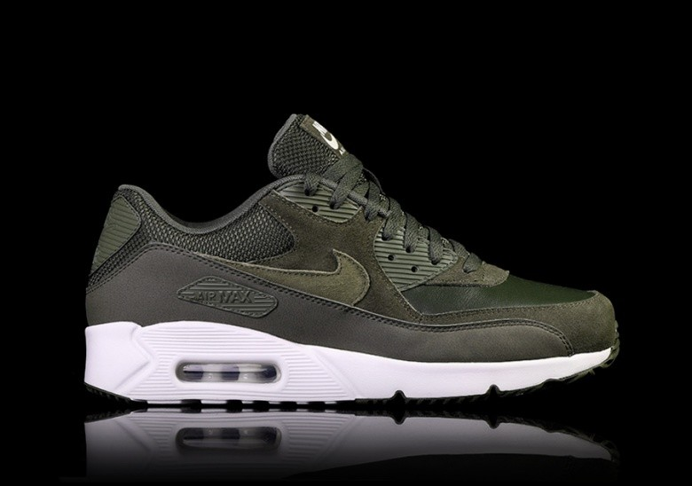 best service 643d4 13666 NIKE AIR MAX 90 ULTRA 2.0 LEATHER CARGO KHAKI
