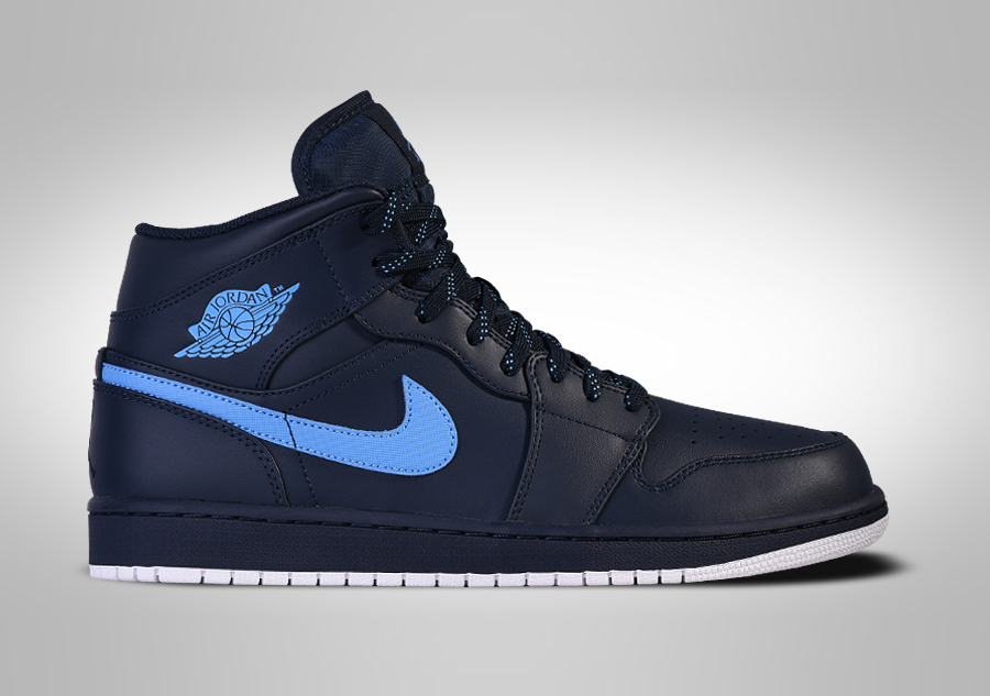 new styles 3b1fc c5cd5 NIKE AIR JORDAN 1 RETRO MID OBSIDIAN