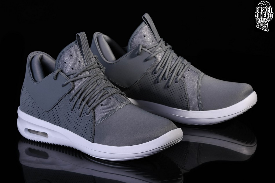 new concept b0199 ebb21 NIKE AIR JORDAN FIRST CLASS COOL GREY