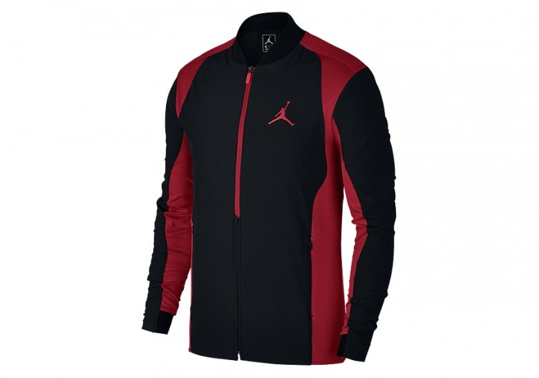 4346f2a87b9c NIKE AIR JORDAN ULTIMATE FLIGHT JACKET BLACK GYM RED pour €92
