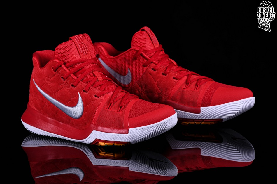 new style b9171 58556 NIKE KYRIE 3 RED SUEDE