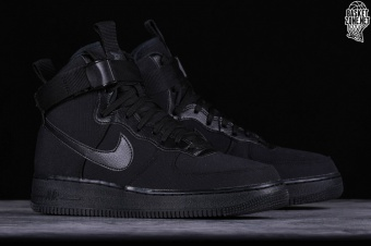 a6310b9e391e NIKE AIR FORCE 1 HIGH  07 CANVAS BLACK. AH6768-001
