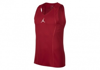 NIKE AIR JORDAN BREATHE ULTIMATE FLIGHT JERSEY GYM RED