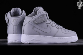 sports shoes 19b6f 5a0df NIKE AIR FORCE 1 MID  07 WOLF GREY