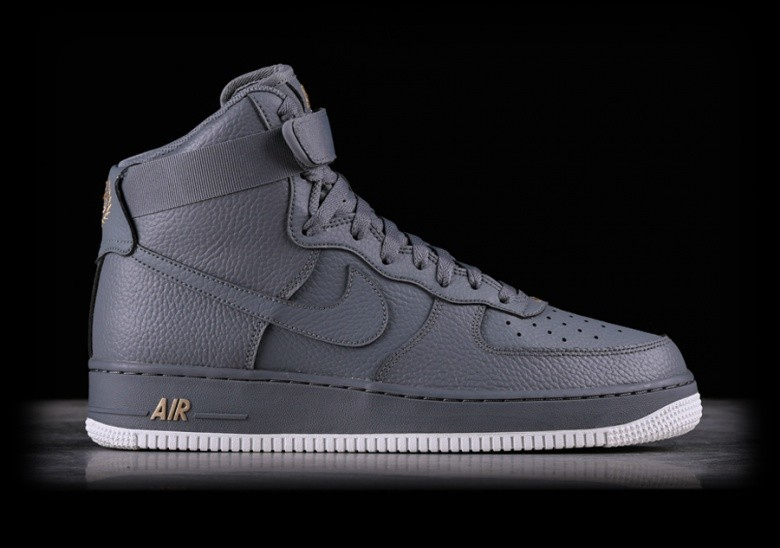 new style 9d669 b7cc9 NIKE AIR FORCE 1 HIGH '07 COOL GREY