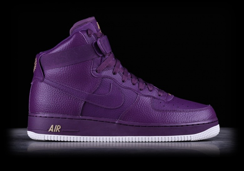 latest fashion the sale of shoes cute cheap NIKE AIR FORCE 1 HIGH '07 NIGHT PURPLE pour €99,00 | Basketzone.net