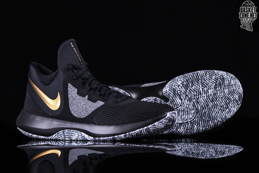 8e109e108fa NIKE AIR PRECISION II BLACK GOLD price 612.50HK