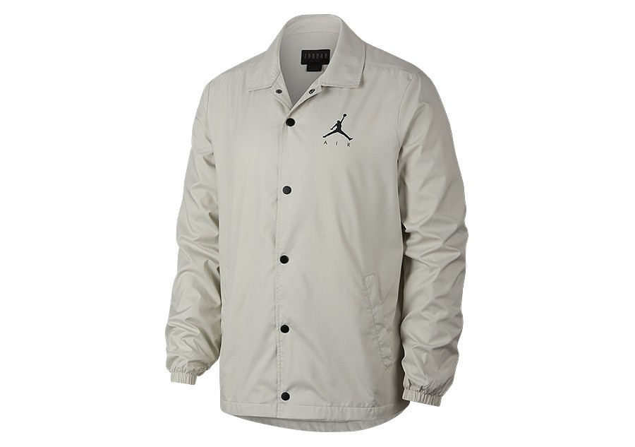 8064139725a5ef NIKE AIR JORDAN SPORTSWEAR JUMPMAN COACH S JACKET LIGHT BONE price ...