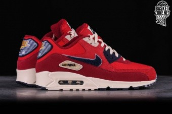 release date: dfb6a b6148 NIKE AIR MAX 90 PREMIUM SE UNIVERSITY RED