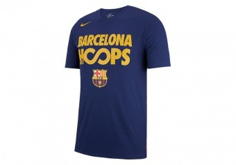 NIKE FC BARCELONA DRY TEE LOYAL BLUE