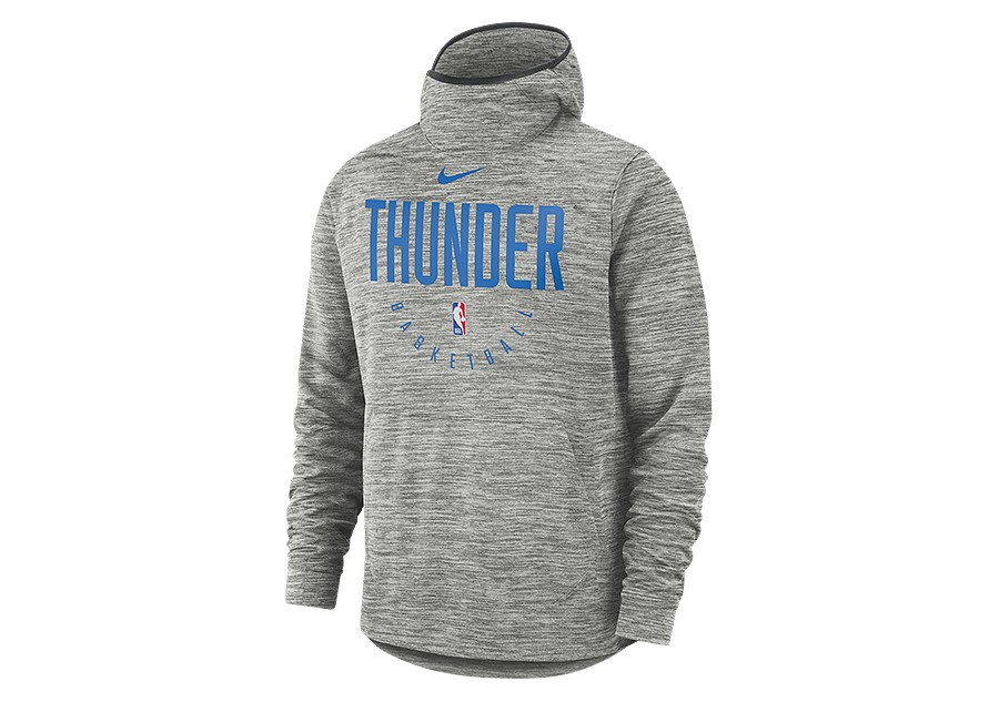 5438fad6302 NIKE NBA OKLAHOMA CITY THUNDER SPOTLIGHT HOODIE CARBON HEATHER price €69.00