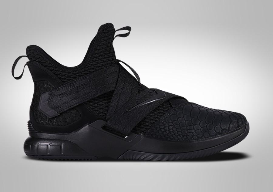 53be27481c5e NIKE LEBRON SOLDIER 12 SFG TRIPLE BLACK price €122.50