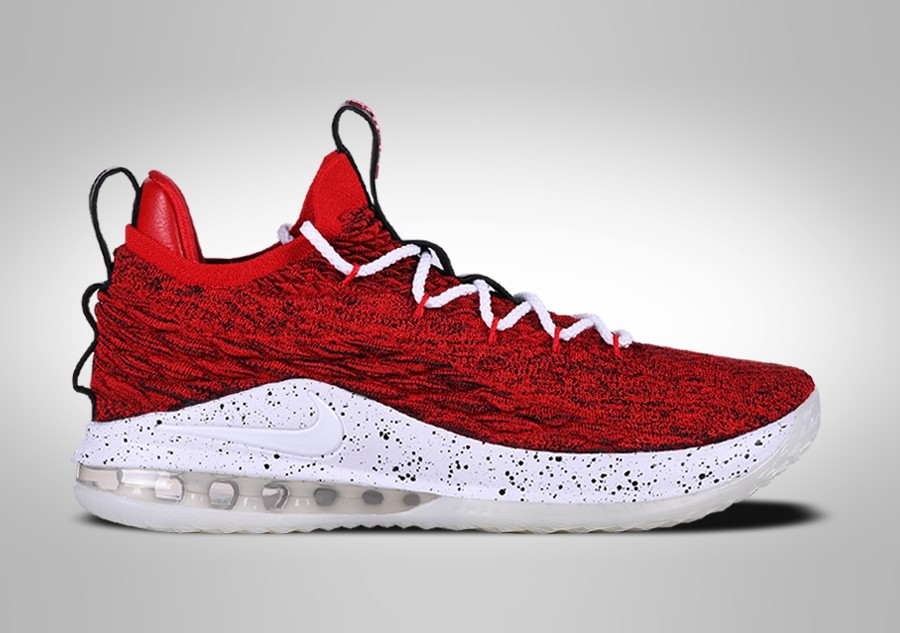 newest ad483 5afda NIKE LEBRON 15 LOW UNIVERSITY RED price €147.50   Basketzone.net