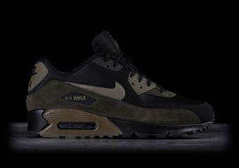 sports shoes 08b70 829a6 NIKE AIR MAX 90 LEATHER MEDIUM OLIVE