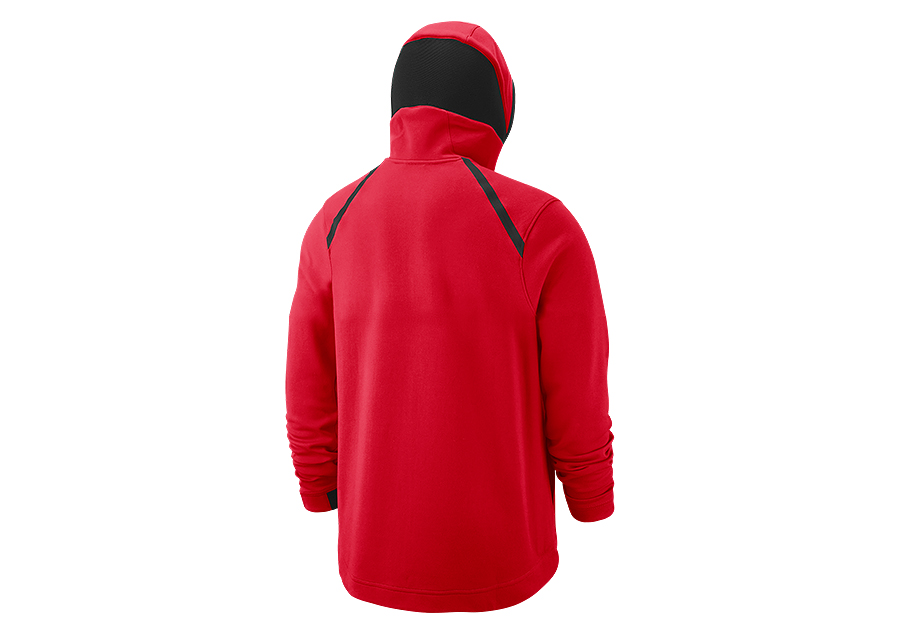 e8f5730b780 NIKE NBA CHICAGO BULLS SHOWTIME DRY HOODIE UNIVERSITY RED pour €92 ...