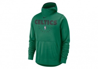 NIKE NBA BOSTON CELTICS SPOTLIGHT HOODIE CLOVER