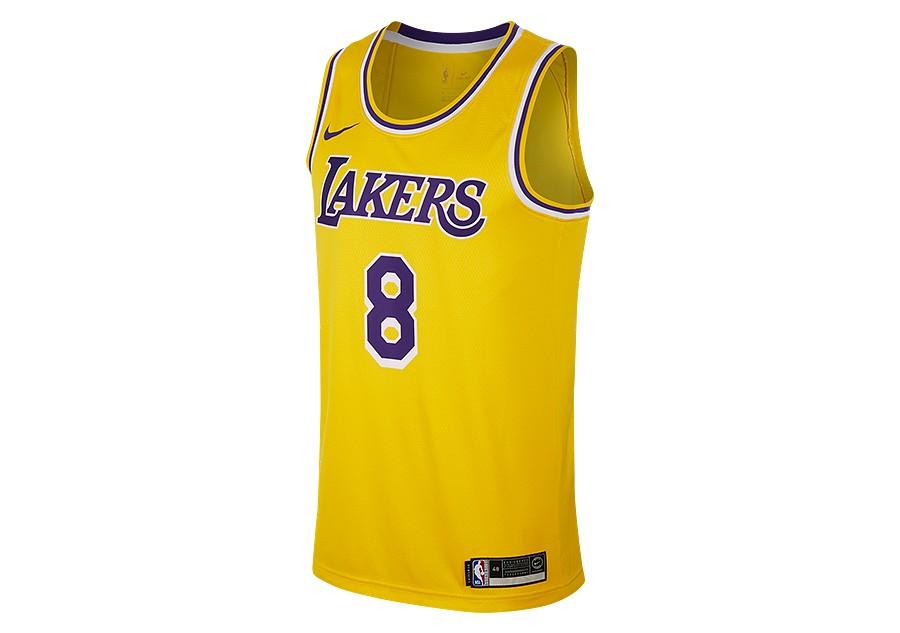 9006a3ade NIKE NBA LOS ANGELES LAKERS KOBE BRYANT SWINGMAN ROAD JERSEY AMARILLO price  €95.00 | Basketzone.net