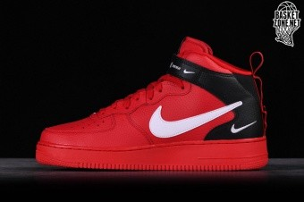 hot sales 80d3f 908c4 NIKE AIR FORCE 1 MID '07 LV8 UTILITY RED por €127,50 | Basketzone.net
