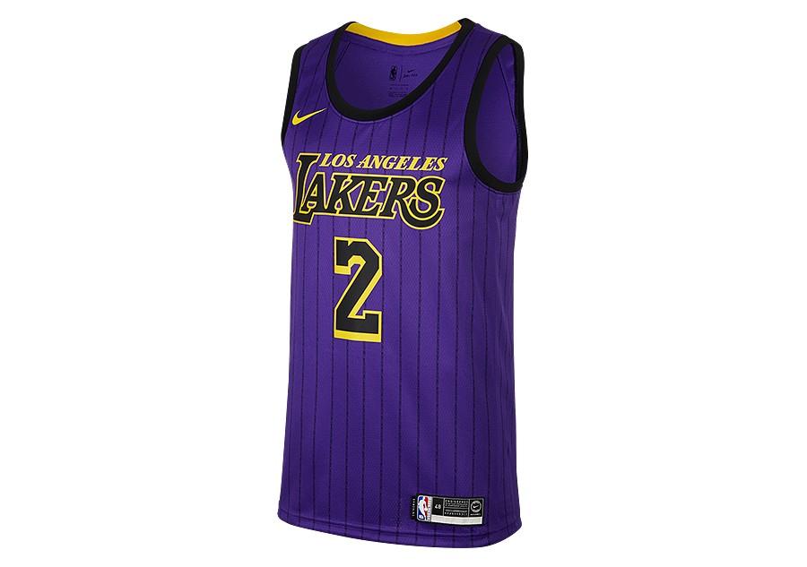 new style 8bcb5 f6973 NIKE NBA LOS ANGELES LAKERS LONZO BALL SWINGMAN JERSEY FIELD ...