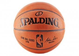 SPALDING NBA GAMEBALL REPLICA OUTDOOR (SIZE 7) ORANGE