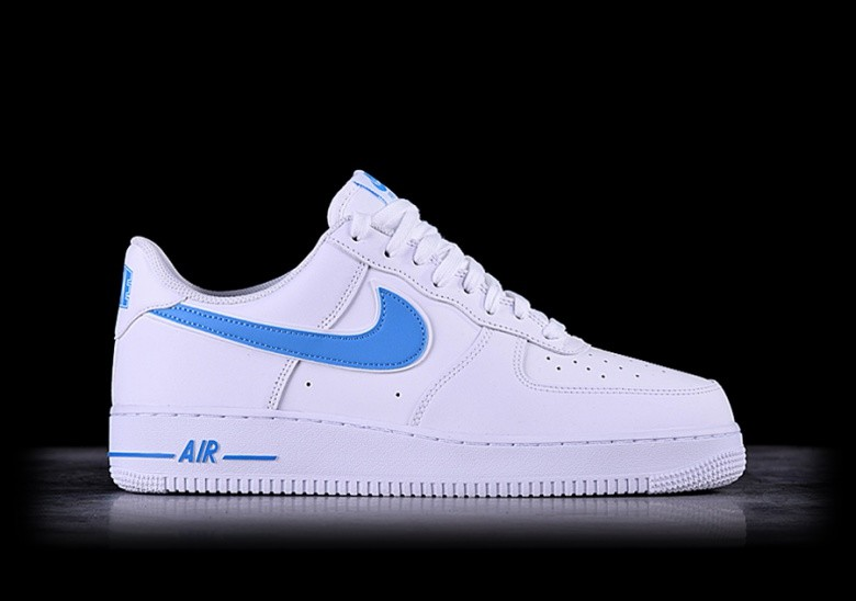 NIKE AIR FORCE 1 '07 3 UNIVERSITY BLUE