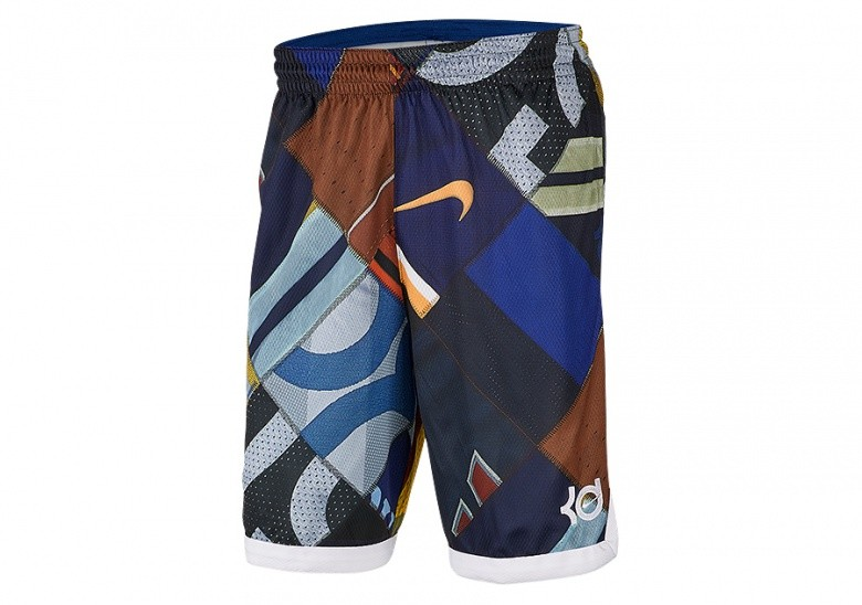 NIKE KD ELITE SHORTS RUSH BLUE