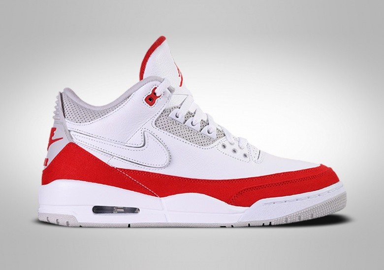 NIKE AIR JORDAN 3 RETRO TINKER UNIVERSITY RED