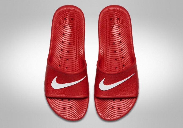 NIKE KAWA SHOWER UNIVERSITY RED