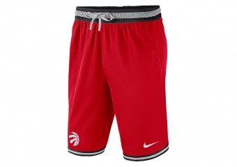 NIKE NBA TORONTO RAPTORS SHORTS UNIVERSITY RED