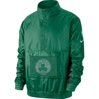 NIKE NBA BOSTON CELTICS LIGHTWEIGHT COURTSIDE JACKET