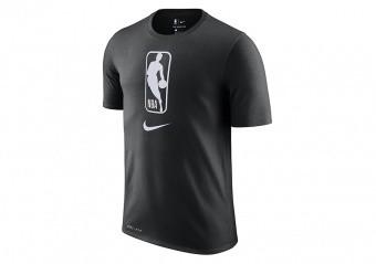 NIKE NBA TEAM 31 DRY TEE BLACK WHITE