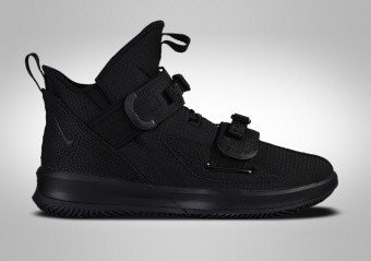 NIKE LEBRON SOLDIER 13 SFG TRIPLE BLACK