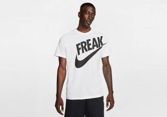NIKE GIANNIS 'FREAK' DRI-FIT TEE WHITE