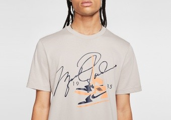 NIKE AIR JORDAN AJ85 CREW TEE MOON PARTICLE