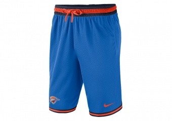 NIKE NBA OKLAHOMA CITY THUNDER SHORTS SIGNAL BLUE