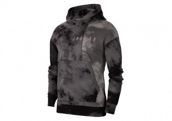 NIKE AIR JORDAN SPORT DNA PULLOVER HOODIE SMOKE GREY