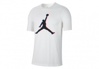 NIKE AIR JORDAN JUMPMAN 23D TEE WHITE